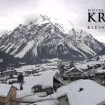 Wetter Kleinwalsertal Mittelberg am 22.02.2019