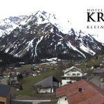 Wetter Kleinwalsertal Mittelberg am 02.05.2019