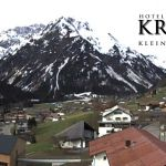 Wetter Kleinwalsertal Mittelberg am 04.05.2019