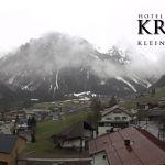 Wetter Kleinwalsertal Mittelberg am 10.05.2019