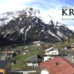 Wetter Kleinwalsertal Mittelberg am 11.05.2019