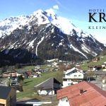 Wetter Kleinwalsertal Mittelberg am 17.05.2019