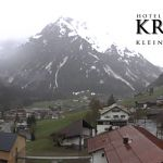 Wetter Kleinwalsertal Mittelberg am 20.05.2019
