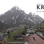 Wetter Kleinwalsertal Mittelberg am 21.05.2019