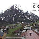 Wetter Kleinwalsertal Mittelberg am 22.05.2019