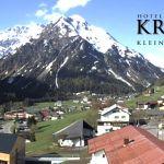 Wetter Kleinwalsertal Mittelberg am 23.05.2019