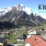 Wetter Kleinwalsertal Mittelberg am 24.05.2019
