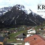 Wetter Kleinwalsertal Mittelberg am 25.05.2019