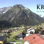 Wetter Kleinwalsertal Mittelberg am 26.06.2019