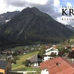 Wetter Kleinwalsertal Mittelberg am 05.07.2019