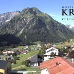 Wetter Kleinwalsertal Mittelberg am 06.07.2019