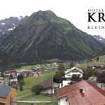 Wetter Kleinwalsertal Mittelberg am 07.07.2019