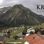 Wetter Kleinwalsertal Mittelberg am 11.07.2019