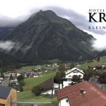 Wetter Kleinwalsertal Mittelberg am 13.07.2019