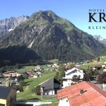 Wetter Kleinwalsertal Mittelberg am 23.07.2019