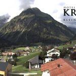 Wetter Kleinwalsertal Mittelberg am 30.07.2019