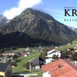 Wetter Kleinwalsertal Mittelberg am 01.08.2019