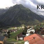 Wetter Kleinwalsertal Mittelberg am 03.08.2019