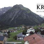 Wetter Kleinwalsertal Mittelberg am 05.08.2019