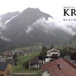 Wetter Kleinwalsertal Mittelberg am 06.08.2019