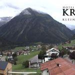 Wetter Kleinwalsertal Mittelberg am 10.08.2019
