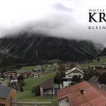 Wetter Kleinwalsertal Mittelberg am 12.08.2019