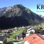 Wetter Kleinwalsertal Mittelberg am 18.08.2019