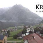 Wetter Kleinwalsertal Mittelberg am 20.08.2019