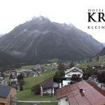 Wetter Kleinwalsertal Mittelberg am 09.09.2019