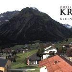 Wetter Kleinwalsertal Mittelberg am 10.09.2019