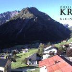 Wetter Kleinwalsertal Mittelberg am 13.09.2019