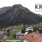 Wetter Kleinwalsertal Mittelberg am 22.09.2019