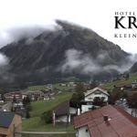 Wetter Kleinwalsertal Mittelberg am 25.09.2019