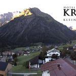 Wetter Kleinwalsertal Mittelberg am 29.09.2019