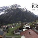 Wetter Kleinwalsertal Mittelberg am 03.10.2019