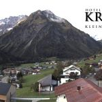 Wetter Kleinwalsertal Mittelberg am 04.10.2019