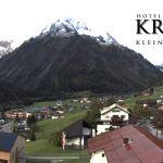 Wetter Kleinwalsertal Mittelberg am 07.10.2019