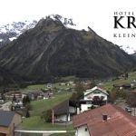 Wetter Kleinwalsertal Mittelberg am 08.10.2019