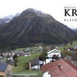 Wetter Kleinwalsertal Mittelberg am 10.10.2019