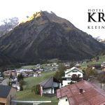 Wetter Kleinwalsertal Mittelberg am 11.10.2019
