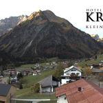 Wetter Kleinwalsertal Mittelberg am 15.10.2019