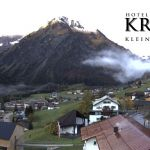 Wetter Kleinwalsertal Mittelberg am 16.10.2019