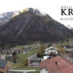 Wetter Kleinwalsertal Mittelberg am 17.10.2019
