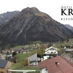 Wetter Kleinwalsertal Mittelberg am 21.10.2019