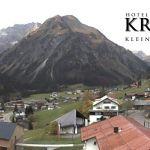 Wetter Kleinwalsertal Mittelberg am 24.10.2019