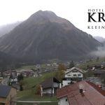Wetter Kleinwalsertal Mittelberg am 28.10.2019