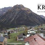 Wetter Kleinwalsertal Mittelberg am 02.11.2019
