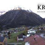 Wetter Kleinwalsertal Mittelberg am 04.11.2019