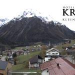 Wetter Kleinwalsertal Mittelberg am 06.11.2019