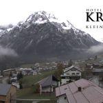 Wetter Kleinwalsertal Mittelberg am 09.11.2019